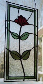 simple wedding rose