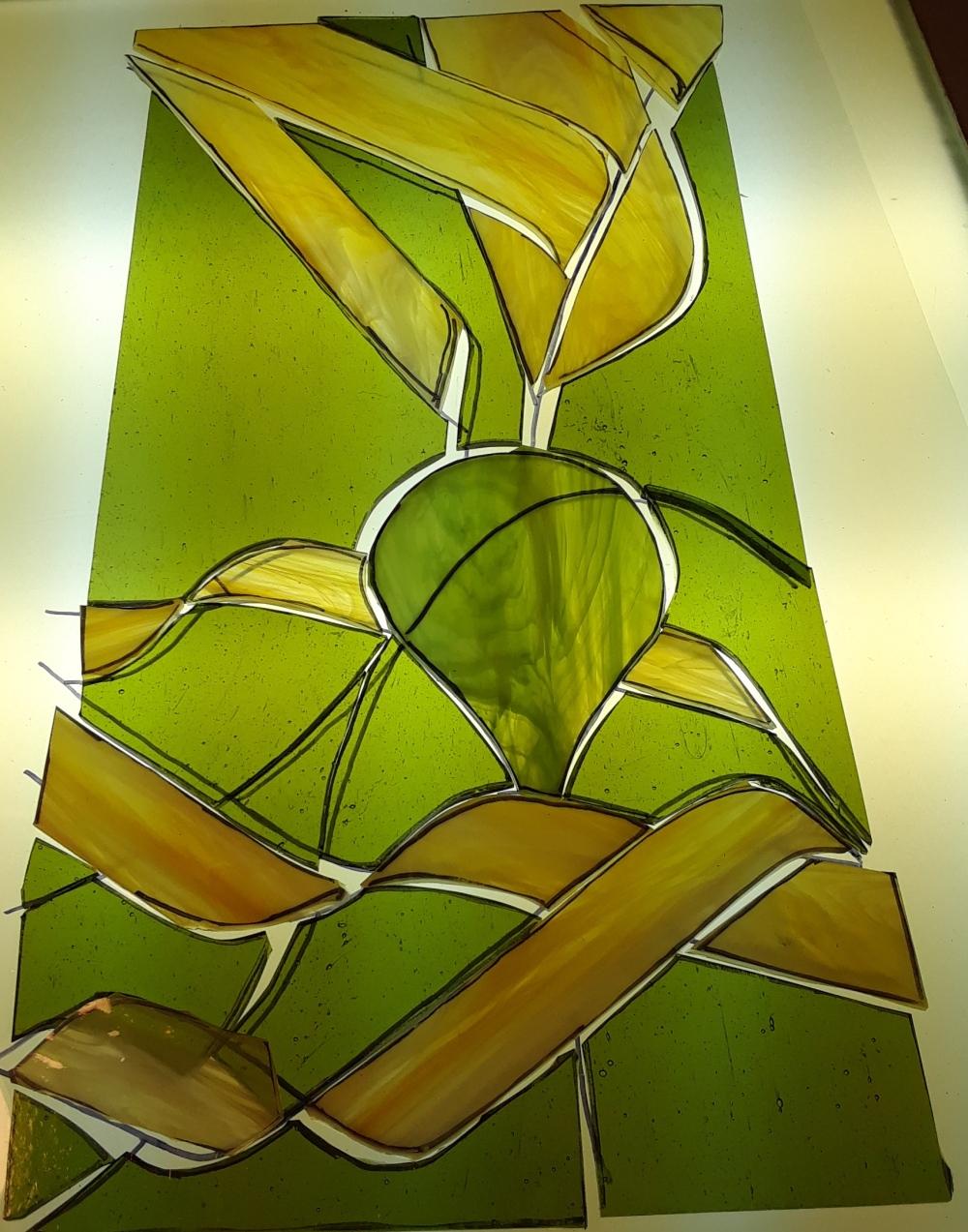 yellow kelp vertical